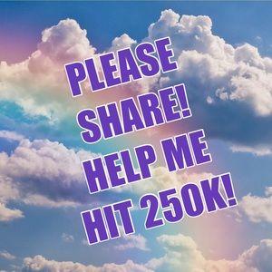 Jewelry - 2K TO GO TO HIT 250K!